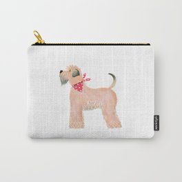 Wheaten Terrier Carry-All Pouch