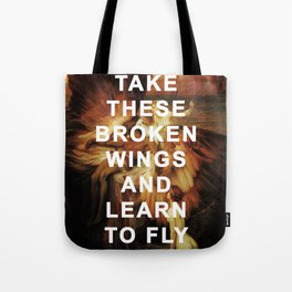 The Lament for Blackbird Tote Bag