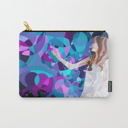 White Balloon Carry-All Pouch