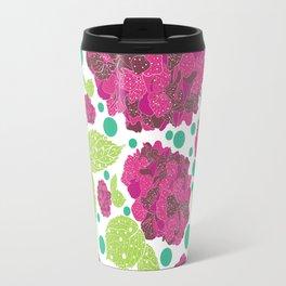 Happiness is hydrangeas Travel Mug