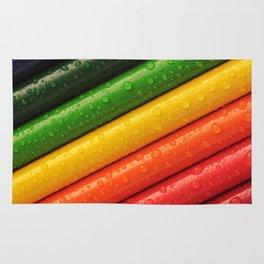 Rainbow Drops Rug