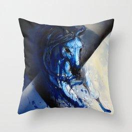 Euphoria Horse Throw Pillow