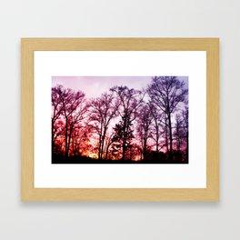 Vibrant Sky Framed Art Print