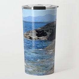Hebrides Cliffs Travel Mug
