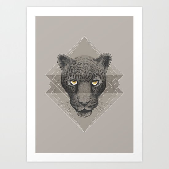 Eternal | Leopard Art Print