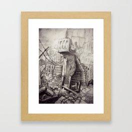 Ruins Framed Art Print