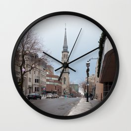 Montréal in November (9 of 11) Wall Clock