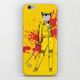 The Cat Bride iPhone Skin