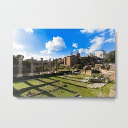 Imperial fora - Rome - Italy Metal Print