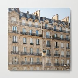 Classique - Paris Apartments Metal Print