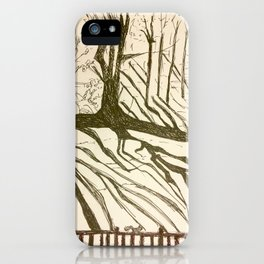 Back yard iPhone Case