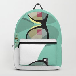 Hipster Squidward Backpack