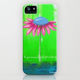 """Be Your Own Kind of Amazing"" Original design by PhillipaheART iPhone Case"