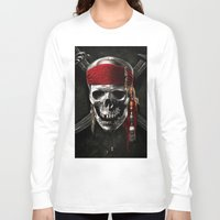 pirate Long Sleeve T-shirts featuring PIRATE by Acus