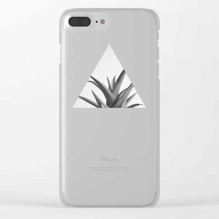 Leaves II Clear iPhone Case