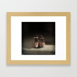 Old Shoes Framed Art Print