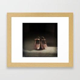 Old Shoes Framed Art Print