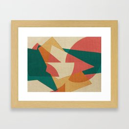 Pistacchio con Fragole Framed Art Print