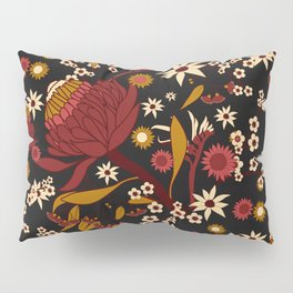 Australian Natives Red Blossom Pillow Sham