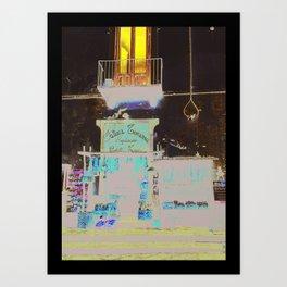 SORRENTO DELI Art Print