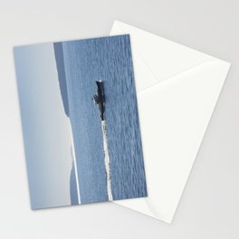 Lobster Boat And Islands Off Mount Desert Island Maine Stationery Cards