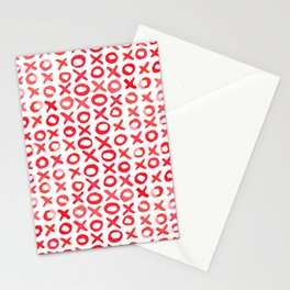 Xoxo valentine's day - red Stationery Cards
