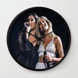 Halsey x Lauren Jauregui 2 Wall Clock