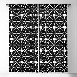 Black and White 4 B Blackout Curtain
