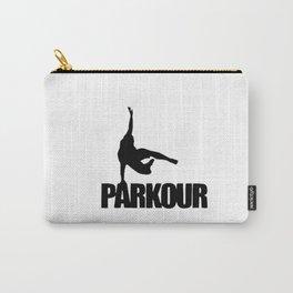 Parkour illustration Carry-All Pouch