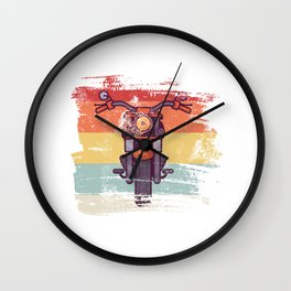 Motorcycle gift for Biker Wall Clock