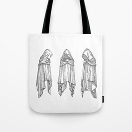 invisible souls in visible bodies Tote Bag