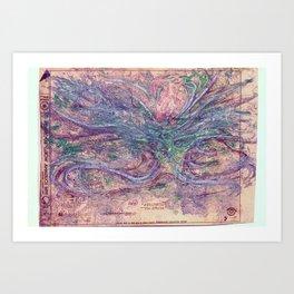 catharsis  Art Print