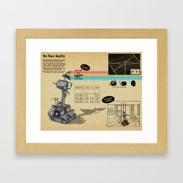 It Shoots Rainbows! Framed Art Print