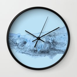 bluish texture Wall Clock