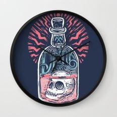 Drink or Die Wall Clock