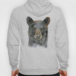 Black Bear Watercolor Hoody