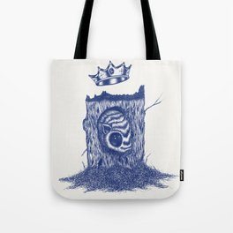 King of the Little Forrest Tote Bag