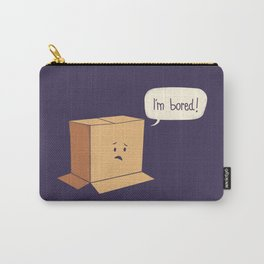 Card-Bored Carry-All Pouch