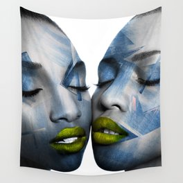 THE GIRL TWINS Wall Tapestry