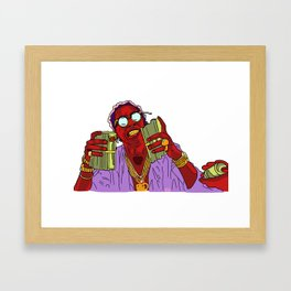 T H U G G E R Framed Art Print