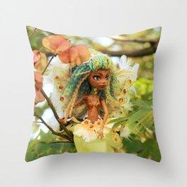 FAIRY Toothfairy in my Garden Throw Pillow