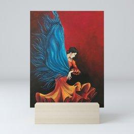 Spanish Flamenco Dancer Mini Art Print