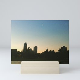 City Moon Mini Art Print