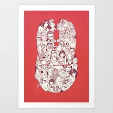 Adulthood - Mashup Art Print