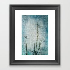 Minimalism ~ Perched Framed Art Print