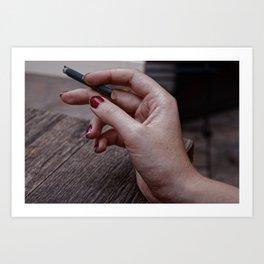 Nicotine Art Print