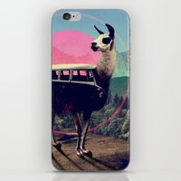 lol iPhone & iPod Skins featuring Llama by Ali GULEC