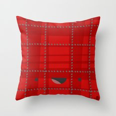 Happy Wrapping Throw Pillow