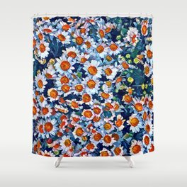 chrydsanthemum Shower Curtain