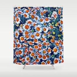 chrydsanthemum Shower Curtain